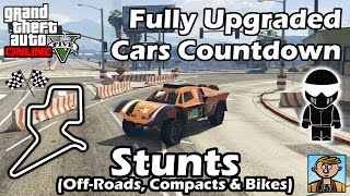 Fastest Cunning Stunts DLC Vehicles (Off-Roads, Compacts & Bikes) - Best Fully Upgraded Cars In GTA