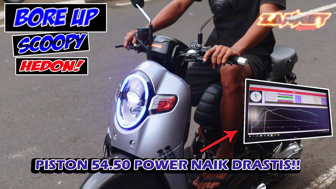 SCOOPY HEDON!!! | BORE UP 54,50mm | ZANKET MOTO
