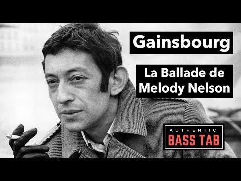 Ballade de Melody Nelson - Gainsbourg
