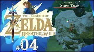 The Legend of Zelda: Breath of the Wild - Part 4   Stone Talus Boss Battle!