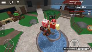 Freddy and Bonnie play roblox together
