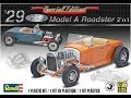 How to Build the 1929 Model A Roadster 1:24 Scale Revell Model Kit #85-4322 Review