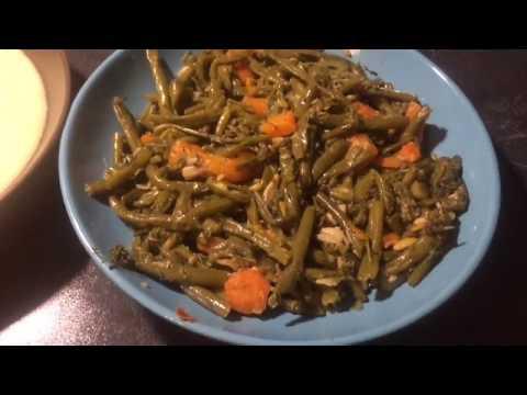 recette-haricots-verts-et-purée-algérie-kabyle