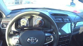 2018 Toyota Camry Exclusive Pov Test Drive