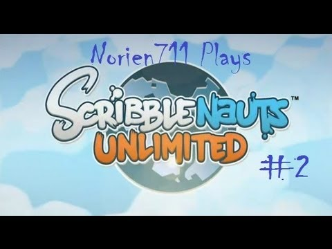 Let's Play Scribblenauts Unlimited - Part 2 - The Art Museum |