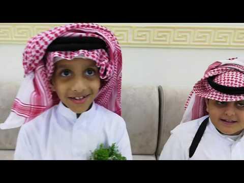 لحظة استقبال الضيوف في زواج سالم بن محمد أحمد #آل_العلاء الشهري