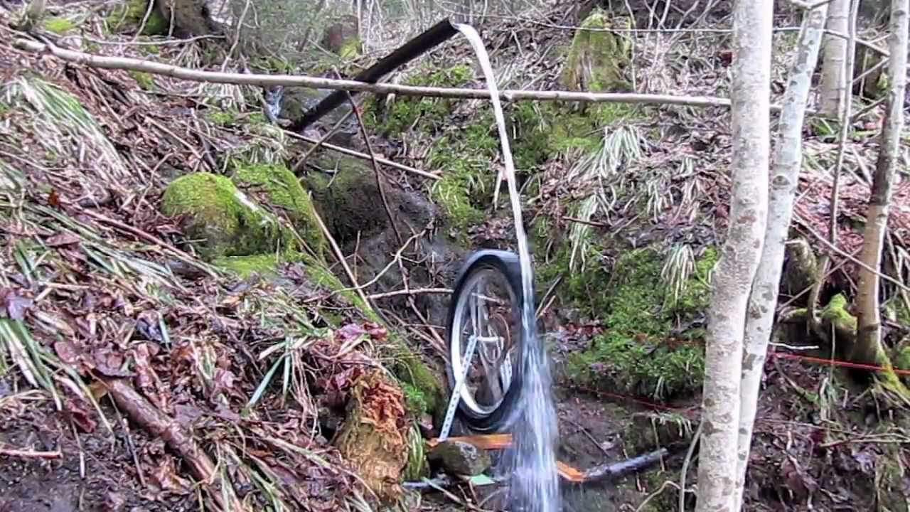 Homemade Water Turbine