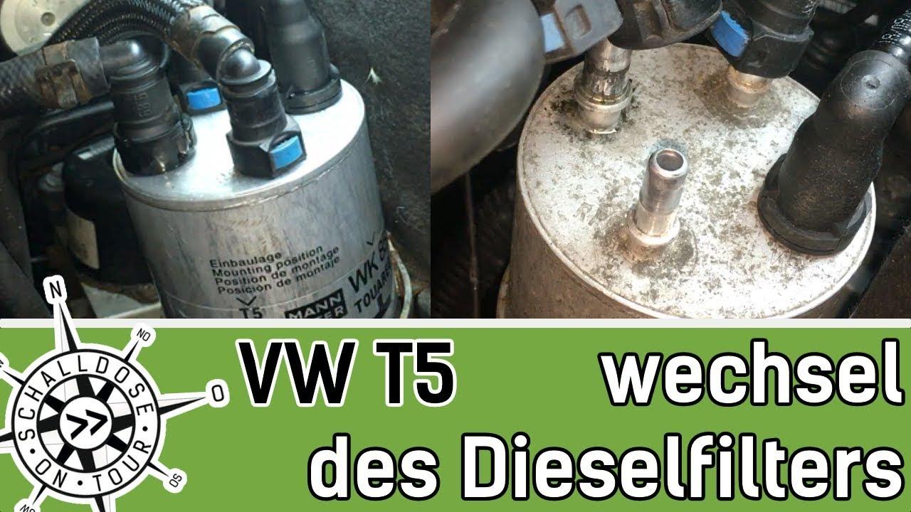 Luftfilter VW T5 Bus Transporter Multivan 1,9TDI 2,0TDI Diesel