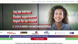 Yvelines | Le salon de l'Etudiant adapté en virtuel