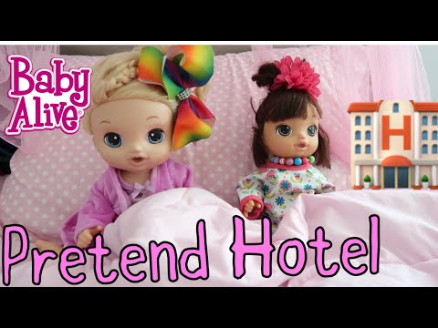 BABY ALIVES Stay at a Hotel  baby alive videos
