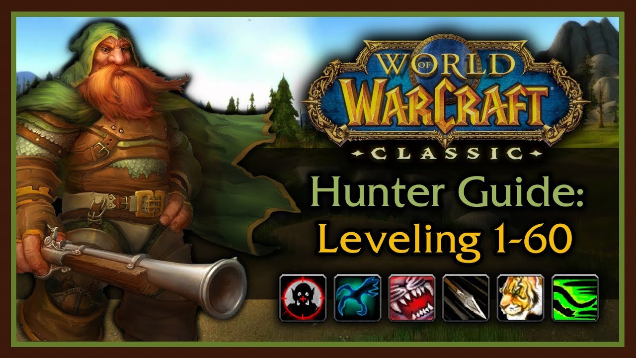 Classic WoW: Hunter Leveling Guide 2.0 (Pets, Talents, Rotation, Bow Progression, Tips & Tricks) - YouTube