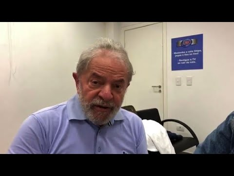 Brazil's Lula sends message to supporters