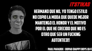 PAUL PARADOX | DOPAO | (Happy Boys 10#) ( Letra y Descarga) thumbnail