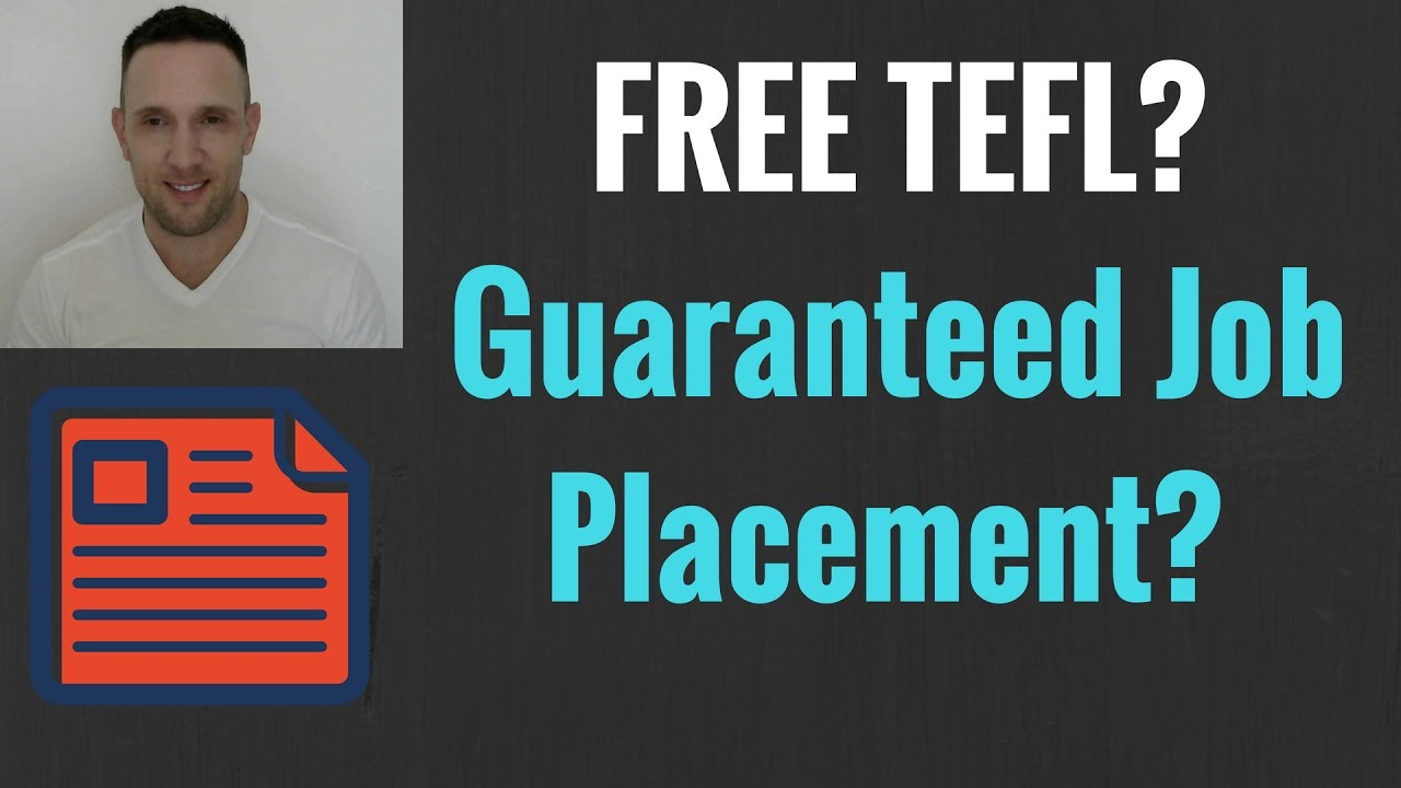 Free Tefl Certifications Overseas With Guaranteed Jobs For English