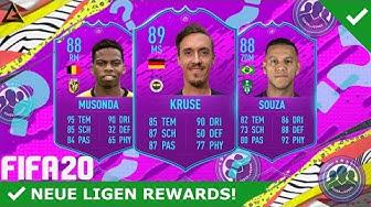 NEUE LIGEN SBC SPIELER REWARDS! 🔥😍 4X MEGA SPIELER UPGRADES! | DEUTSCH | FIFA 20 ULTIMATE TEAM