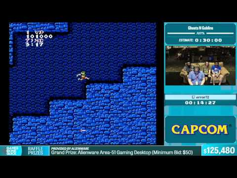 Ghosts N Goblins by error72 in 20:30 - Summer Games Done Quick 2015 - Part 25