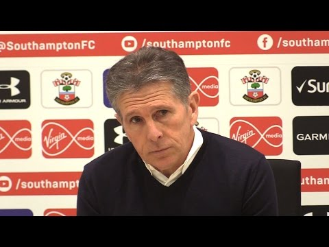 Claude Puel Full Pre-Match Press Conference - Manchester United v Southampton - EFL Cup Final