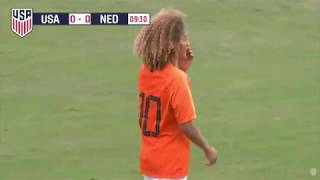 Xavi Simons vs. United States U-16