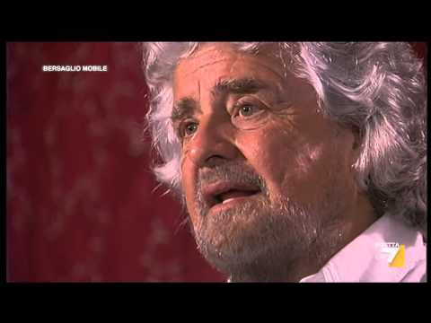 Bersaglio Mobile - Intervista esclusiva a Beppe Grillo (21/03/2014)