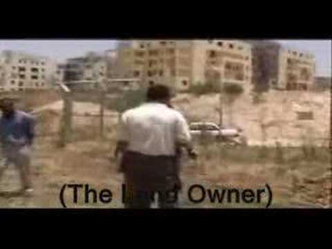 Illegal settlement infrastruc. exposed on Palestinian land