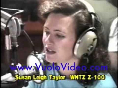 Susan Leigh Taylor Z100 Radio New York 1988
