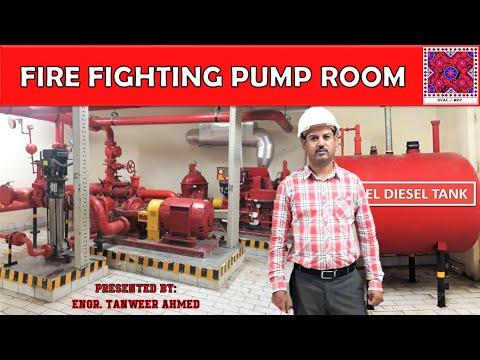 Fire Fighting Pump Room | Firefighting | In Urdu / Hindi