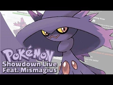 Nasty Plot Mismagius! Pokemon Sun and Moon OU Showdown Live W/OPJellicent (Smogon OU Team)