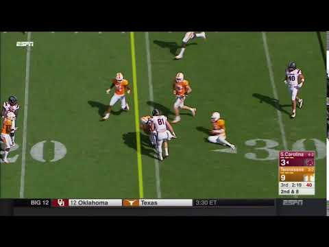 2017 USC vs Tennessee - AJ Turner 10 Yd Run
