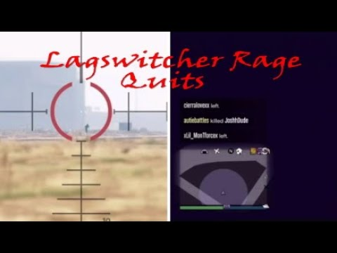 LAGSWITCHING TRYHARD RAGE QUITS|Gta5 Online