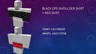 Outfit Codes For Girls