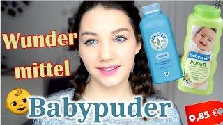 10 Tricks mit Babypuder   für Gesicht, Haare, Pflege   ♥ANNA KAISER♥