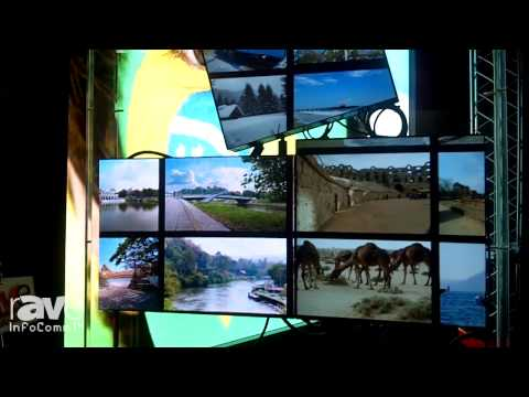 InfoComm 2014: Eyevis Shows How Their Software Helps Create Creative Arrangements of Display Units