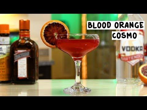 Blood Orange Cosmo