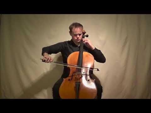 Elliott Carter - Figment For Cello Solo