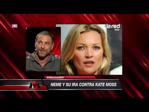 Los detalles del desencuentro de José Antonio Neme con Kate Moss