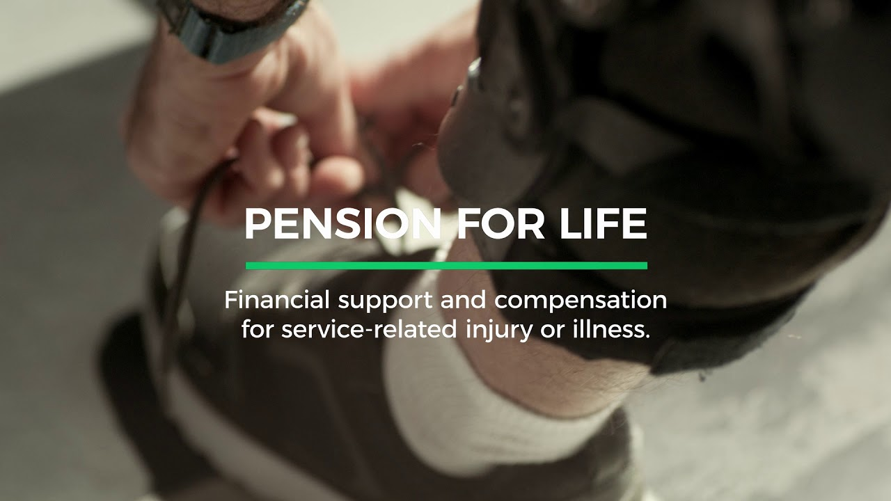 Pension for life - Veterans Affairs Canada