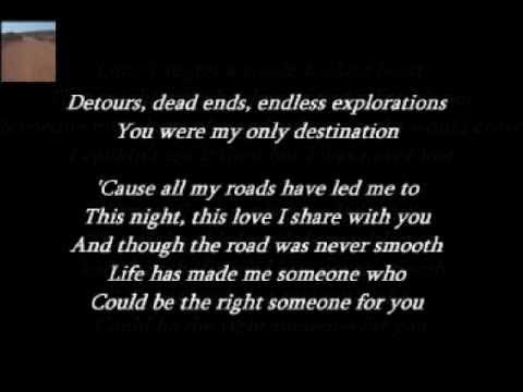 Collin Raye - All My Roads ( + lyrics 1998)