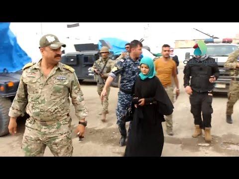 فوج طوارئ الشرطة الثامن يتمكن من تحرير فتاة ايزيدية في منطقة موصل الجديدة بالجانب الايمن