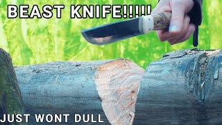 Most CRAZY Knife EVER!? | DULO Leuku Laminated K390!