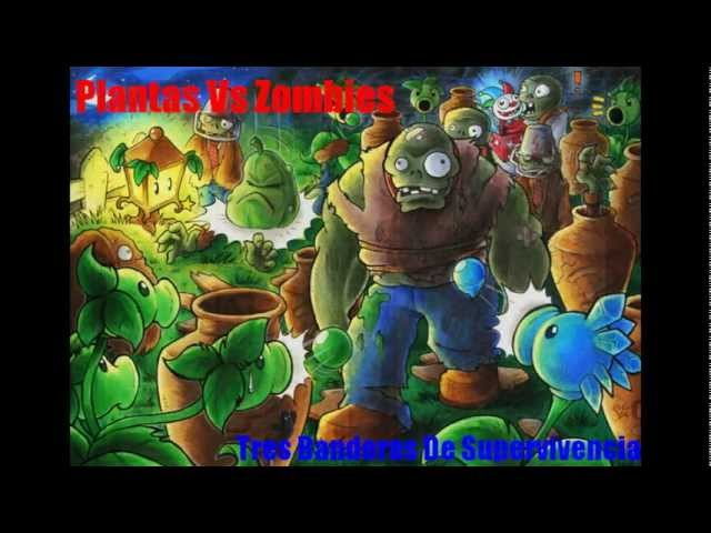 Plantas Vs Zombies 3 Banderas de Supervivencia Videos De Viajes