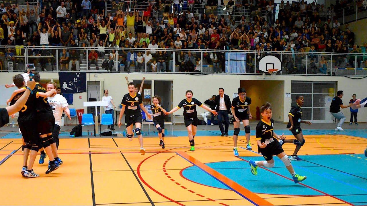 Asv tv volley coupe de france benjamin m13 2015 finale as villebon volley vs montpellier - Coupe de france de volley ...