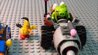 Lego Angry Birds Movie Chuck VS Pig