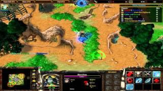Warcraft III: TFT - (CUSTOM) 172 - Sethrone Battle - Tref hrdinu