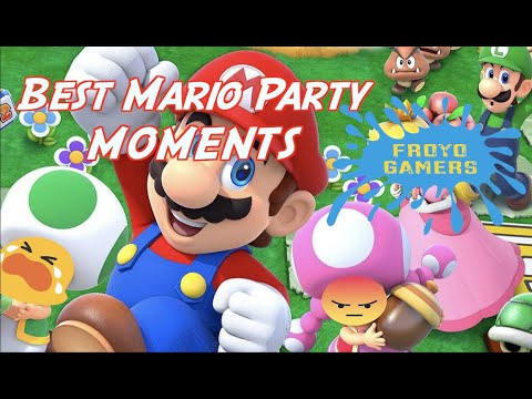Best Mario Party Moments -Froyo Gamers