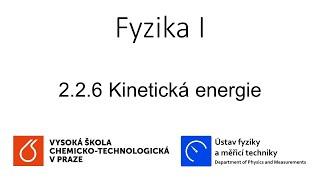 2.2.6 Kinetická Energie