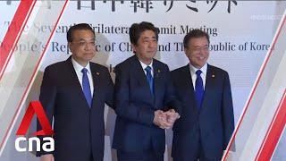 China, Japan and South Korea pledge to boost trade ties