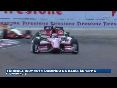 Os carros da Fórmula Indy voltam a acelerar neste domingo