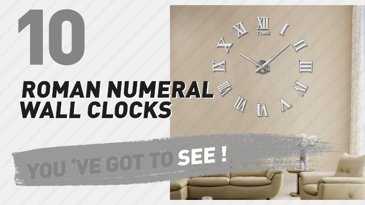 Roman numeral wall clocks new popular 2017 youtube roman numeral wall clocks new popular 2017 amipublicfo Gallery