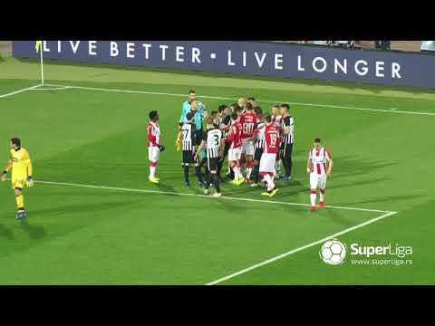 Super Liga 2018/19: 24.Kolo: CRVENA ZVEZDA – PARTIZAN 1:1 (0:1)