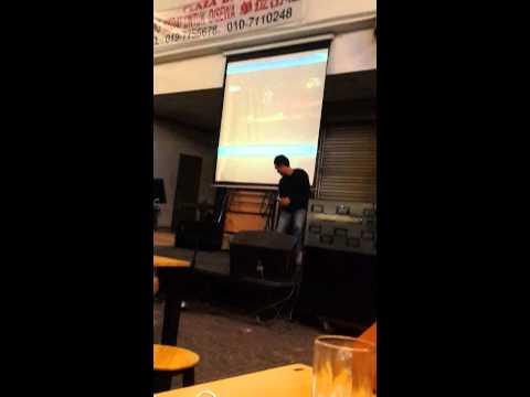 kluang karaoke - asmara from setia band sing by faiz ..